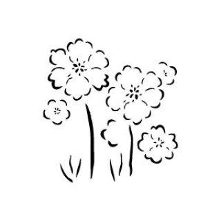 Szablony Z Tworzywa Flora Kwiaty Motywy Roślinne Szabloneria